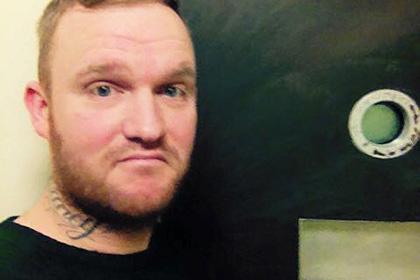 Британец Кристиан Уиллоуби опубликовал на своей странице в Facebook отзыв на тюремную камеру