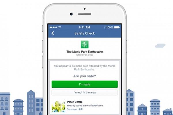 Разработчики Facebook запустят возможность самостоятельной активации функционала Safety Check для всех пользователей
