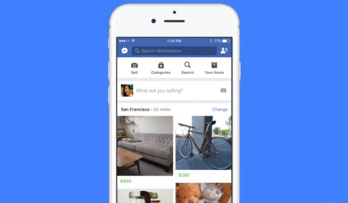 Facebook запустил площадку для местной торговли Marketplace
