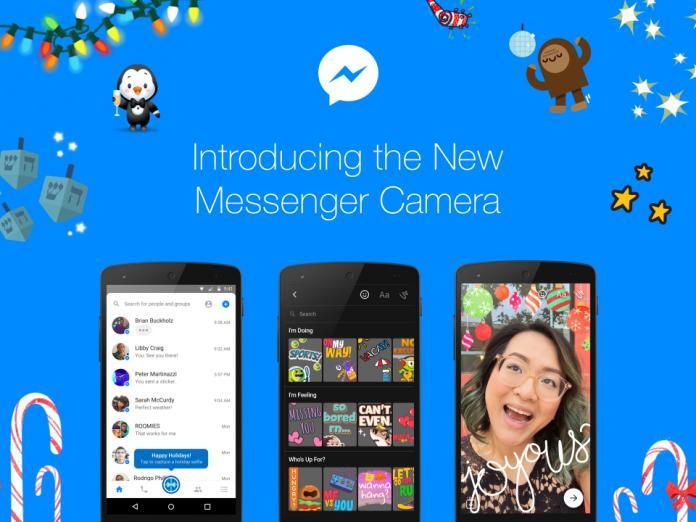 В Facebook Messenger появилась камера и раздел c исчезающими «историями»