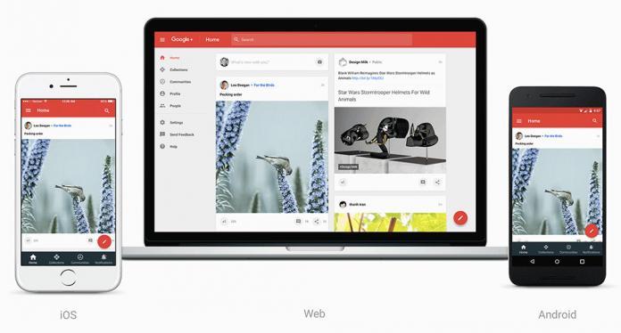 Классическая версия интерфейса Google+ будет отключена 24 января