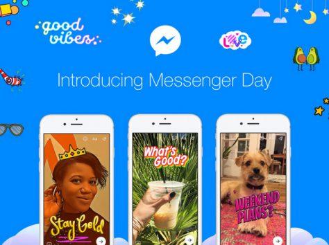 Facebook запускает Messenger Day