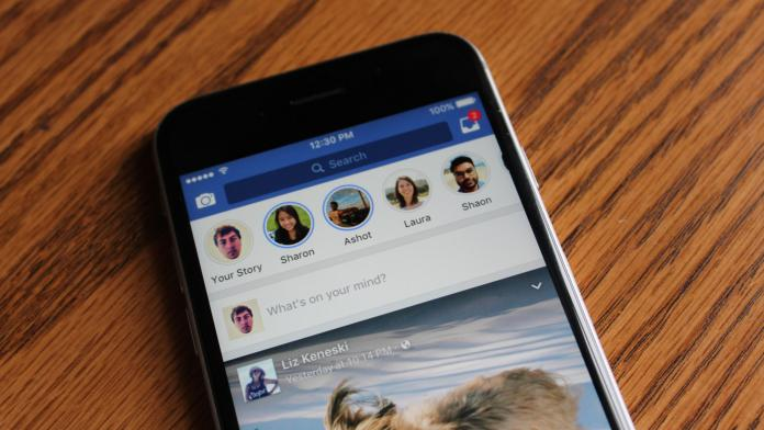 Facebook запускает «Истории» для всех пользователей