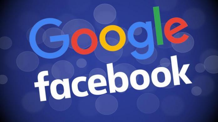Google и Facebook контролируют 20% мирового рынка рекламы