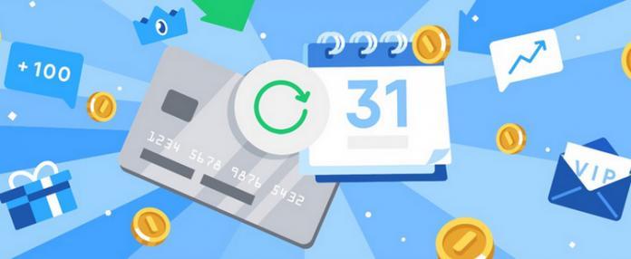 ВКонтакте вводит подписку для оплаты в приложениях