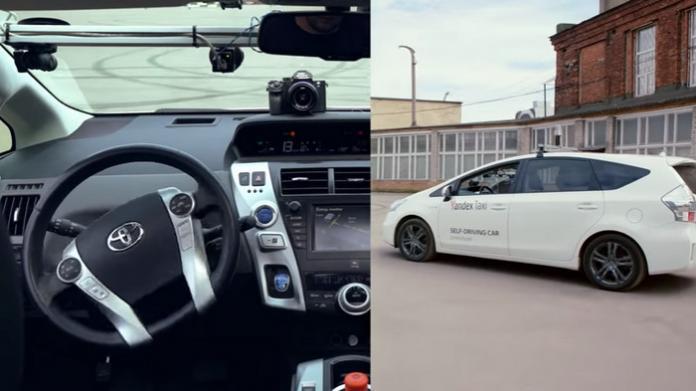 Яндекс представил проект беспилотного автомобиля