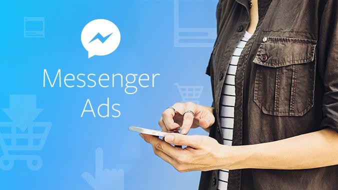 Facebook запускает бета-версию рекламы в Messenger по всему миру