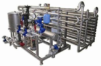 Характеристики пластинчатой пастеризационно-охладительной установки