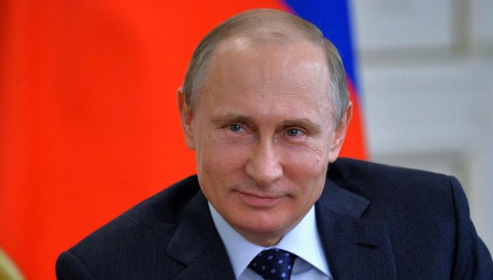 Путин пошутил о мате в сети