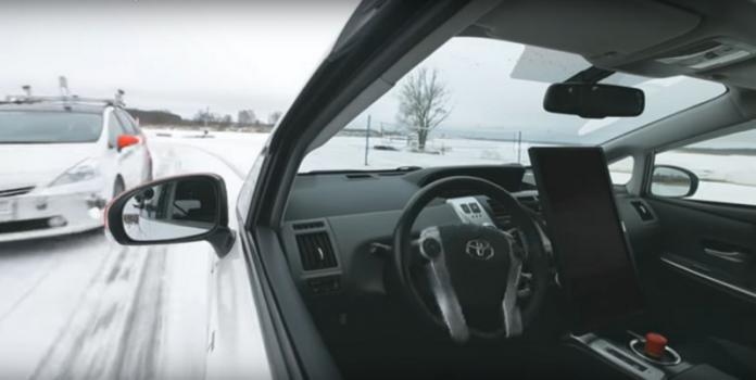 Яндекс провел испытания своего беспилотного автомобиля в зимних условиях