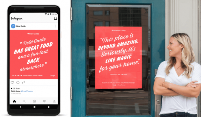 Google предлагает малому бизнесу создание промо-материалов из отзывов