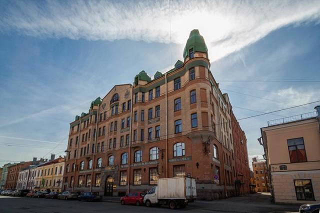 Загадочные здания Санкт-Петербурга: Аптечный комплекс Пеля