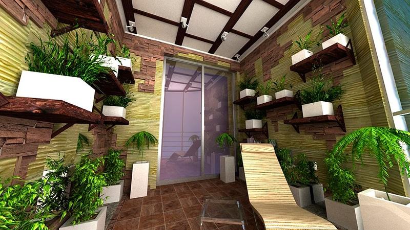 Благоустройство балкона – от кабинета до зимнего сада