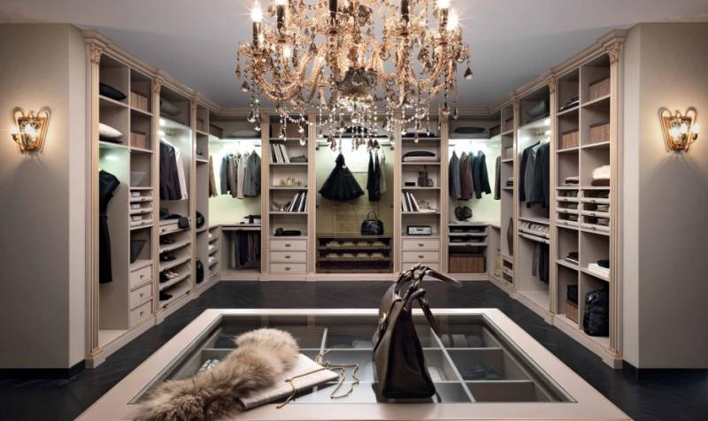 Рекомендации по обустройству гардеробной комнаты