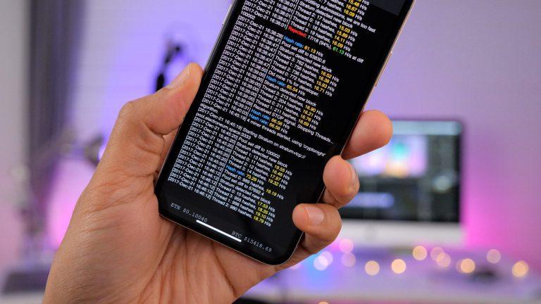 iPhone научились делать биткоины