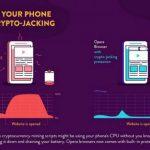 Opera внедрила защиту от скрытого майнинга в мобильные браузеры