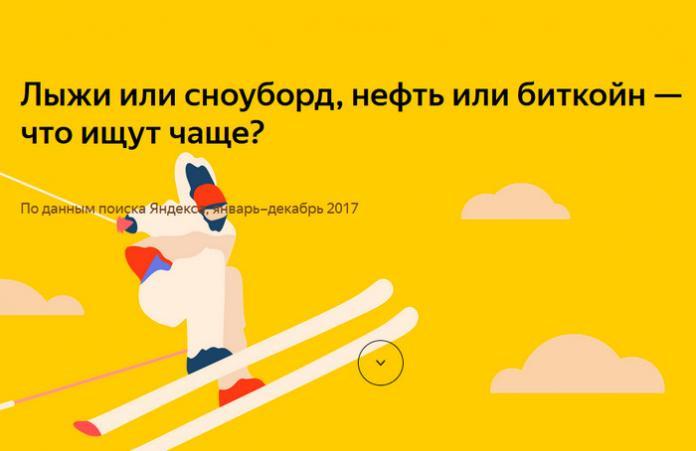 Тест Яндекса: Что ищут чаще – нефть или биткоин?