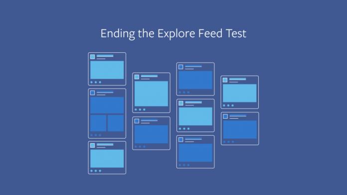 Facebook отказался от альтернативной ленты новостей