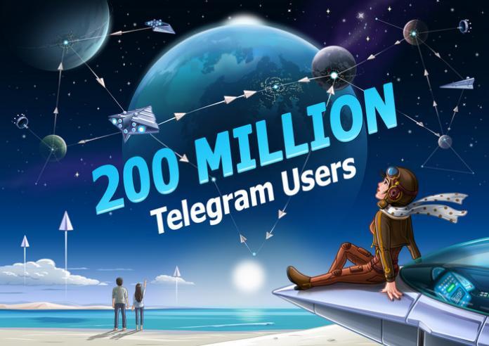 Аудитория Telegram удвоилась за последние 30 дней