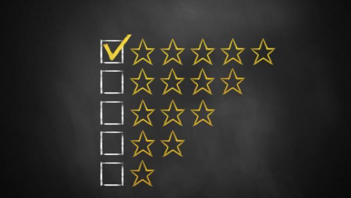 Google тестирует серые звёзды рейтингов в результатах поиска