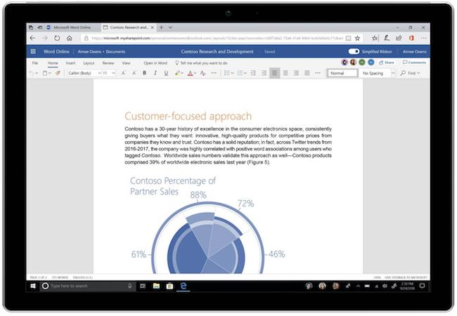 Microsoft обновит дизайн приложений, входящих в пакет MS Office