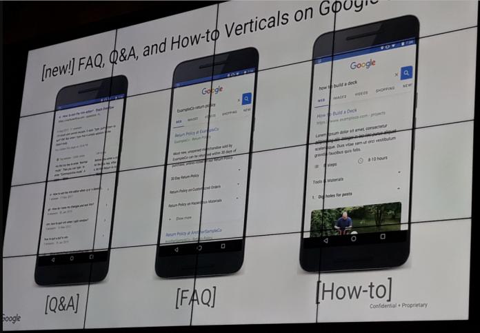 Google представил три новых типа расширенных результатов в поиске