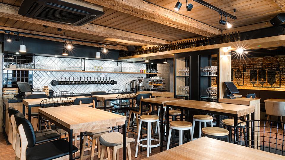 Мебель для баров и ресторанов в стиле Лофт