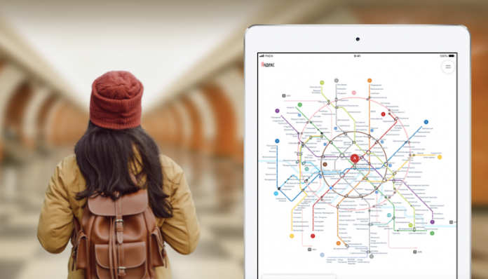Яндекс обновил дизайн приложения Яндекс.Метро для iOS