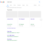 Google показал, как может выглядеть SERP после реформы авторского права в ЕС
