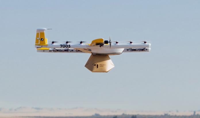 Alphabet начнет коммерческую доставку товаров дронами в Австралии