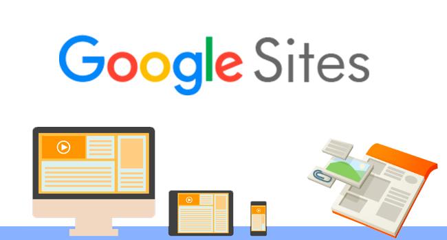 Google Сайты получили обновлённый футер