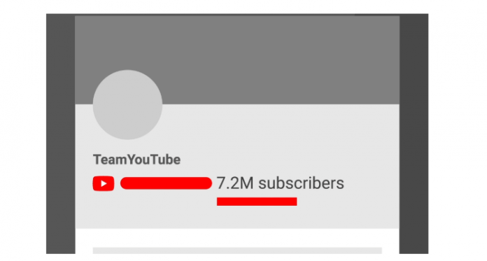 YouTube больше не будет показывать точное число подписчиков для каналов с 1000+ человек
