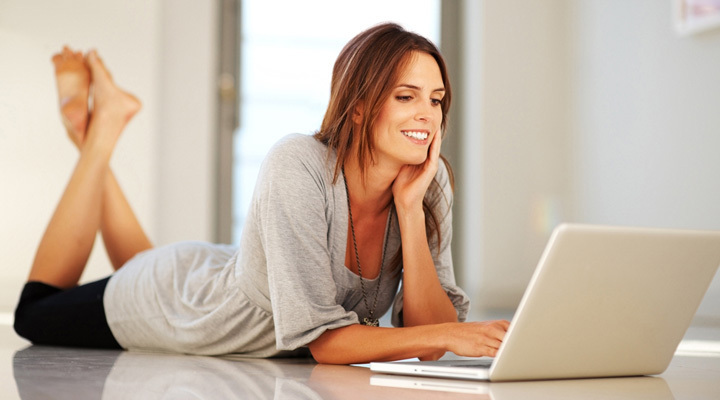 Женщина и компьютер