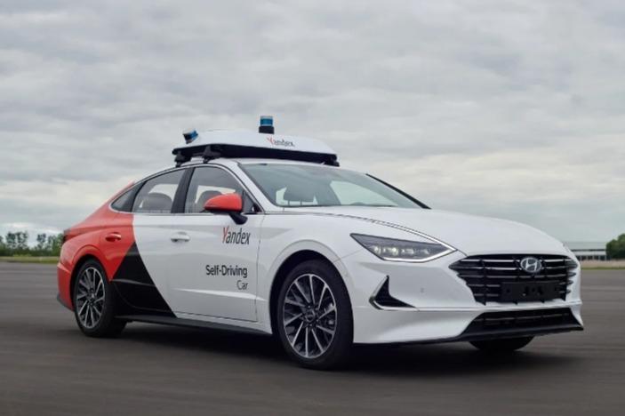 «Яндекс» разработал технологию для беспилотника Hyundai