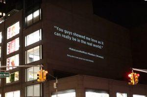 Социальная сеть Make Love Not Porn провела партизанскую рекламную кампанию