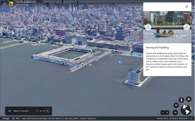 В Google Earth теперь можно создавать собственные карты с аннотациями