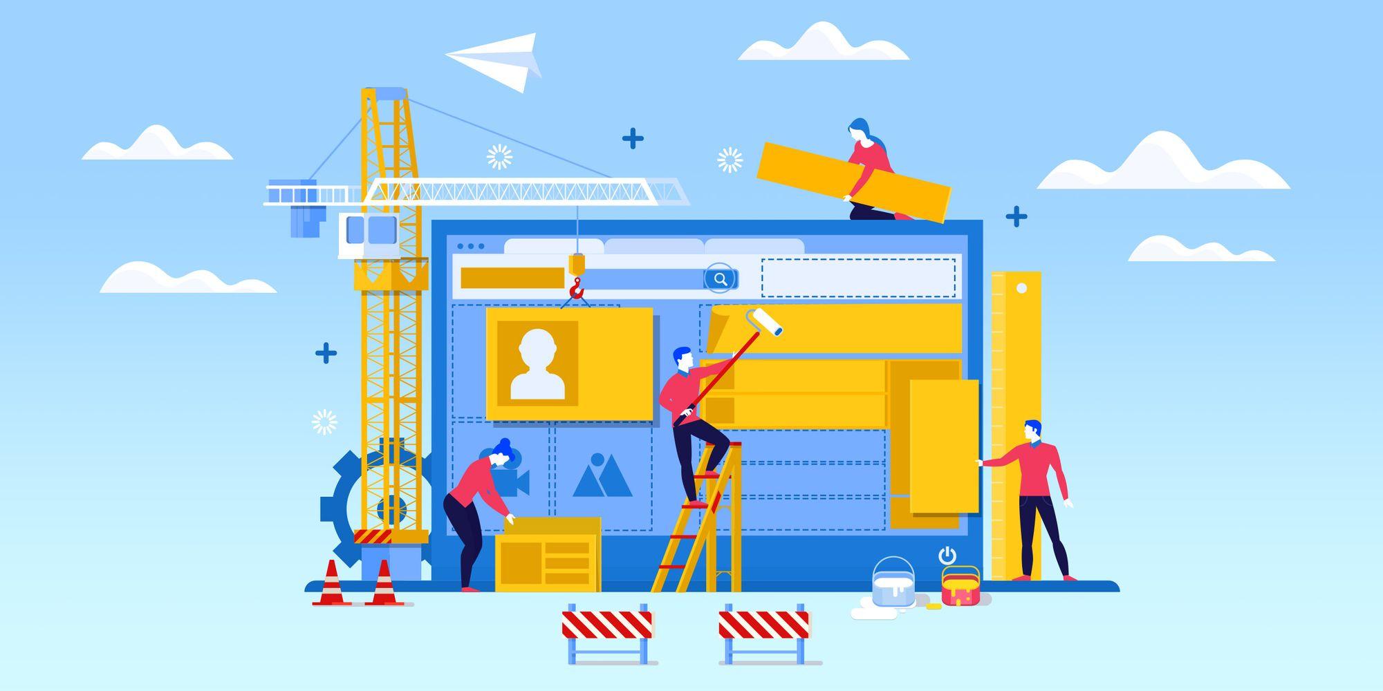 Конструкторы сайтов – помощь новичкам для создания сайтов
