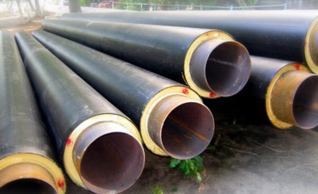 Пенополиуретановая теплоизоляция трубопровода