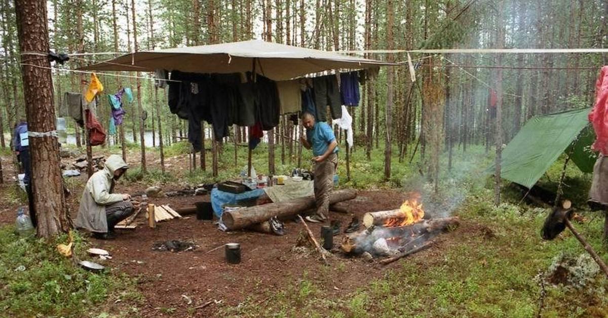 Советы по организации лагеря в пешем походе