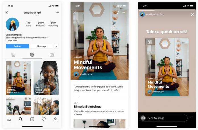 Instagram представил новый формат публикаций «Guides»