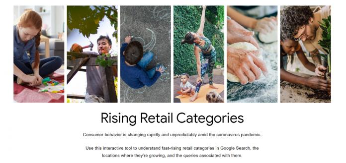 Новый инструмент от Google показывает трендовые товарные запросы