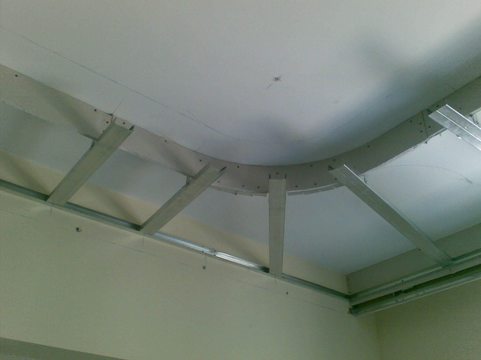 Делаем подвесной потолок из гипсокартона своими руками