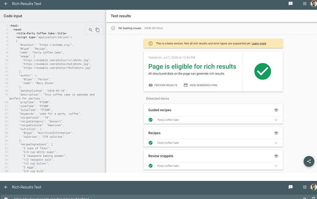 Google вывел из беты инструмент проверки расширенных результатов
