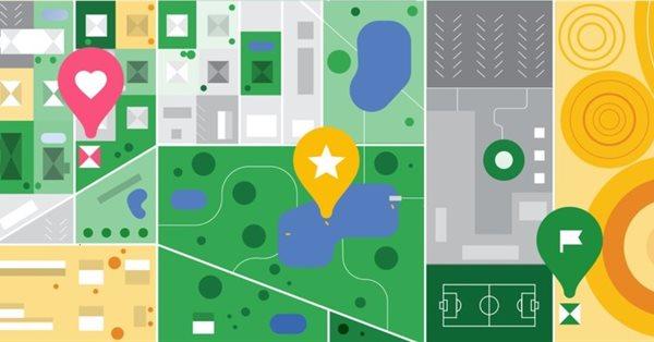 Google обновил вкладку с сохранёнными местами в Картах
