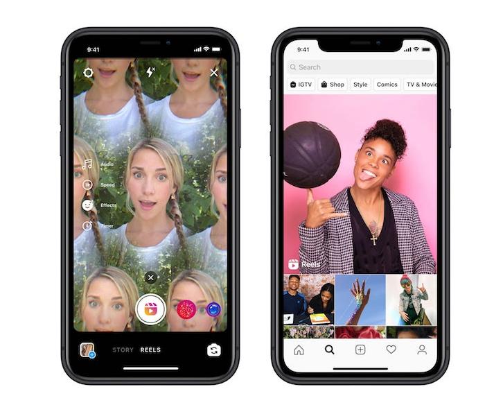 Instagram объявил о международном запуске сервиса коротких видео Reels