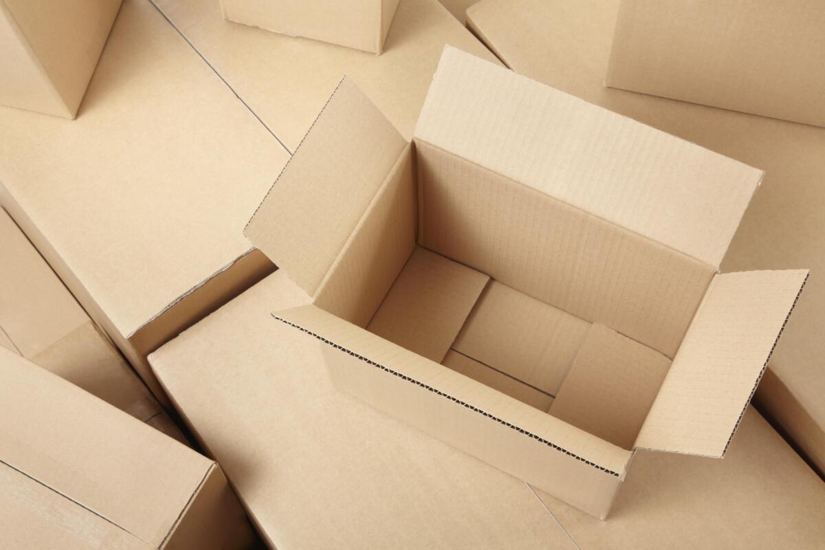 Картонные коробки — удобная упаковка для транспортировки