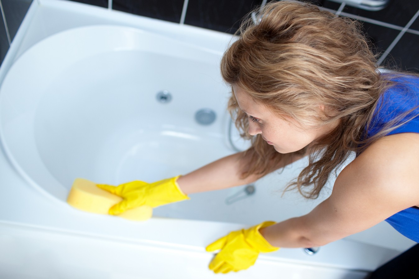 Правильная чистка ванны