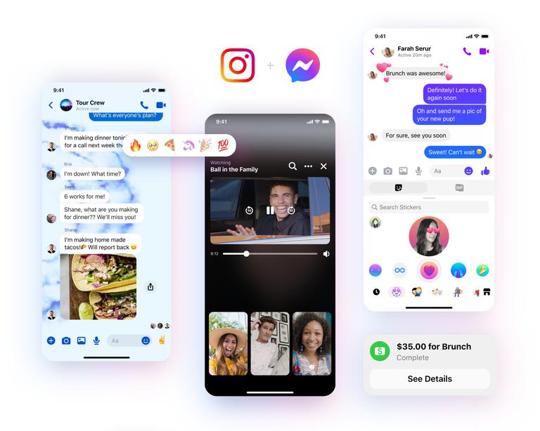 Facebook провёл редизайн Messenger