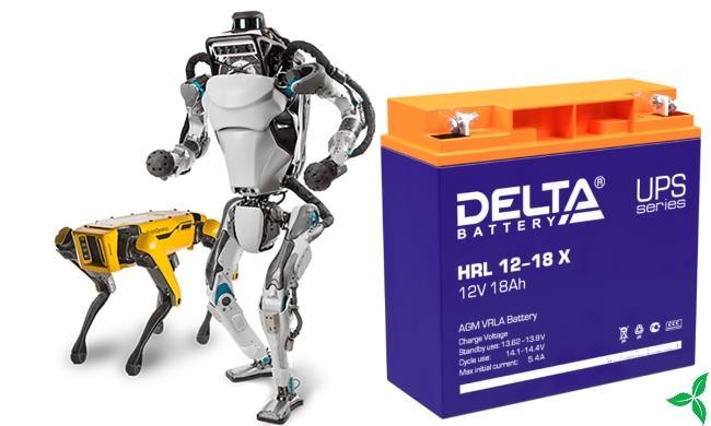 Аккумуляторная батарея Delta HRL 12-18 X