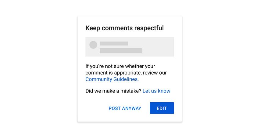 YouTube усиливает борьбу с оскорбительными комментариями